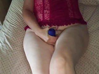 Sexy Mormon wife vibrator and cock fuck