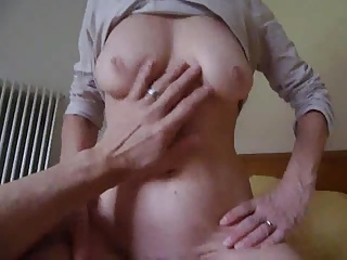 mature couple  my wife 56 yo tits fucked private hairy sazz