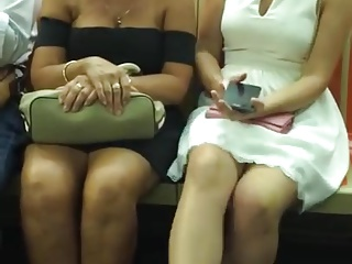 Sexy Mom And Daughter Sexy Feet Dangling
