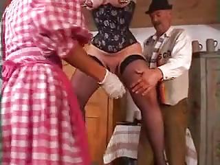 mature Heidi double anal fisting