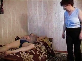 Russian Granny and a Boy R20