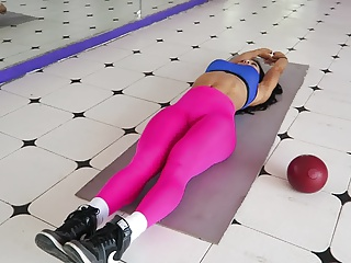 yes!!! fitness hot ASS hot CAMELTOE 82