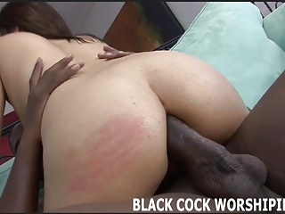 This is my first time tasting big black cock