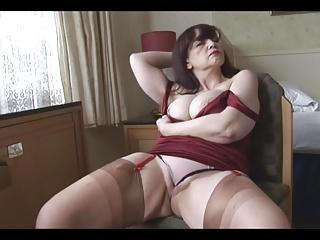 Busty mature Tanya