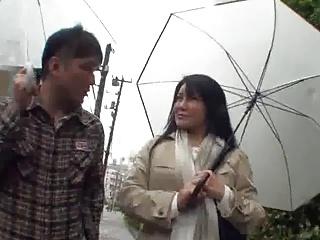 52yr old Granny Yukari Kirishima Creamed (Uncensored)
