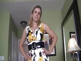 Hot mom handjob