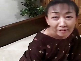 54yr old Hairy Japanese Granny still Craves Cum (Uncensored)