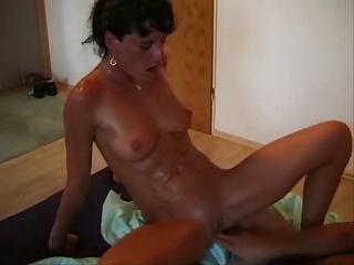 hot mom vs cock