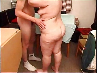mature bbw with her boy