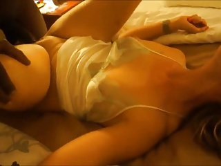 Hot Wife Moans While Taking a BBC