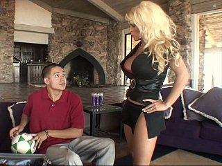 Golden-haired mamma receives screwed by her step-son