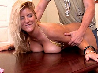 Shag your bigtitted boss unfathomable and hard!