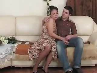Lillian and Adam furious mature video