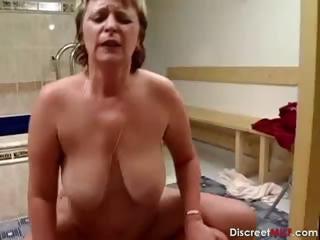 German Grandmother Get Facial