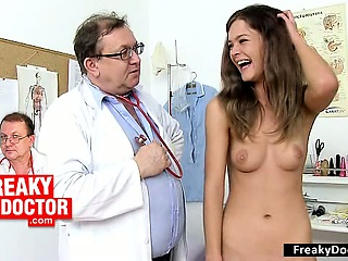 Beautiful skinny hairy pussy Amanda Vamp fetish clinic