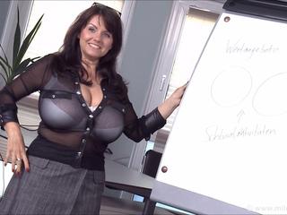 Sexy MILF Shows Her Big Soft Boobs