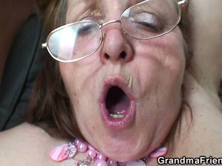 CHUBBY GRANNY HUMAN RESOURCES 3SOME