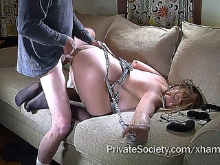 chubby amateur with glasses squirts and gets a good fuck