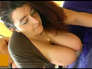 Fat mature babe fucking with a young big dick