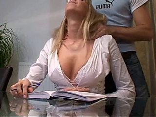 German Private Teacher fuck