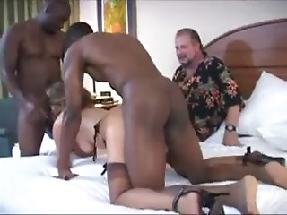 spouse clean up his wife (cuckold)