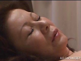 Chizuru Iwasaki hot mature Asian chick is fucked hard