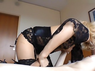 I'm fucking with my bf in my homemade blonde porn video