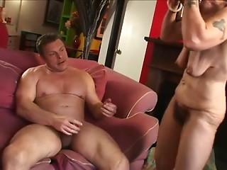 saggy milf enjoying cock
