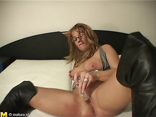 Precious gazoo matured damsel groaning when pined from behind