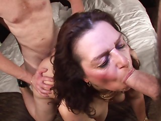 Nasty Dutch old fatty Coosje acquires rammed in a 3some