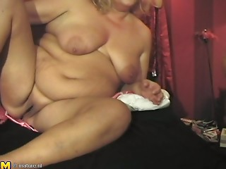 Erma and Trudie are plump hotties who just love a dose of precious banging