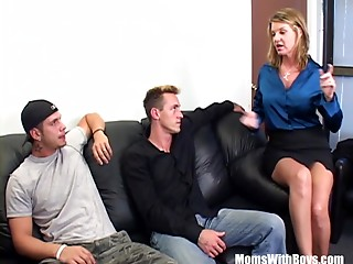 Angry Boss Kayla Quinn Copulates 2 Insubordinate Employees