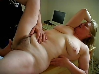 Old bimbo Ela is completely willing to have sex one time afresh