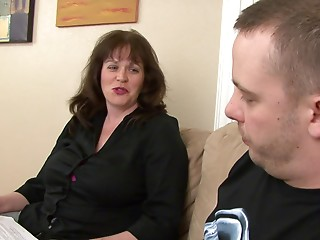 Stimulating mother I'd like to fuck shows that she's still admirable in dong riding