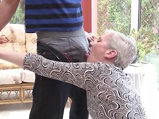 Lustful old bitch needs his pecker in her horny wet crack