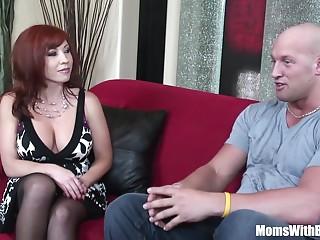Redhead Mother Brittany O'Connell Pierced Cum-hole