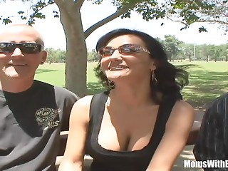 Bigtitted Wife Sami Scott Drilled During the time that Spouse Watches