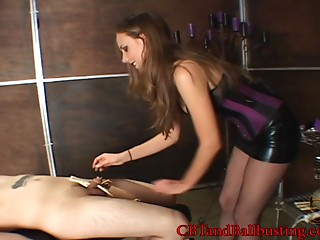 Older lady gratifying a wang with fetish games