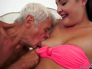 Dolly Diore is willing to have her cum-hole creampied by experienced rod