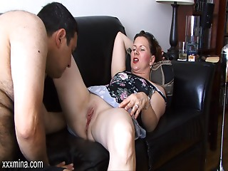 Delectable chick can't live without getting her fur pie licked then fucked with a toy