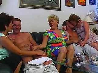 Excellent germany old group porn