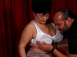 Old slut needs to acquire laid and that guy gives her sexy box a fine fucking
