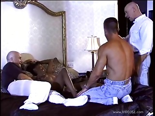 Swarthy hooker Justice acquires drilled in cuckold porn and jizzed