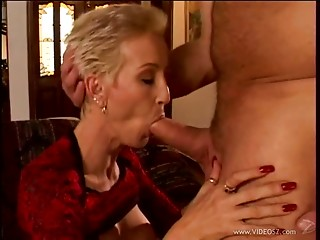 Short Haired MILF Receives Screwed By Her Beloved Pornstar
