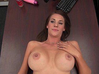 Swollen scones mamma displays her hot nipps