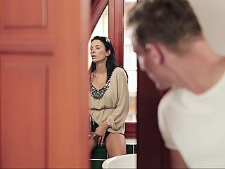 I found my mother-in-law masturbating
